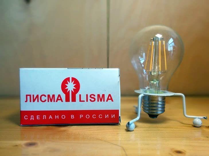 Светодиодные лампы Лисма можно купить в нашем интернет-магазине ledroid.ru