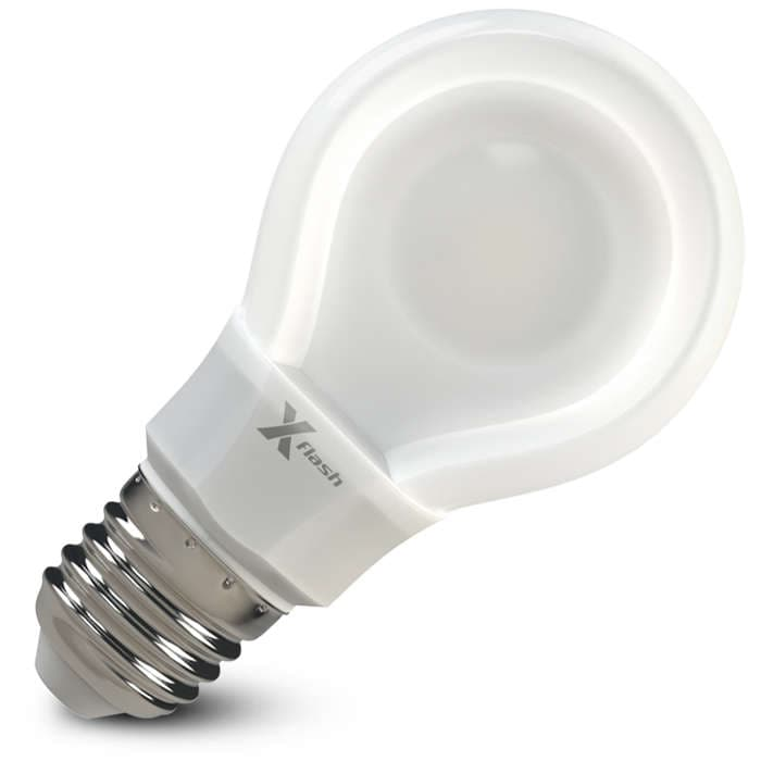 Светодиодная лампа X-flash XF-E27-FLT-A60-P-8W-3000K-220V арт. 46751