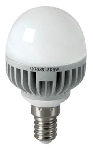 Gauss LED Globe 6W E14 4100K арт. EB105101206