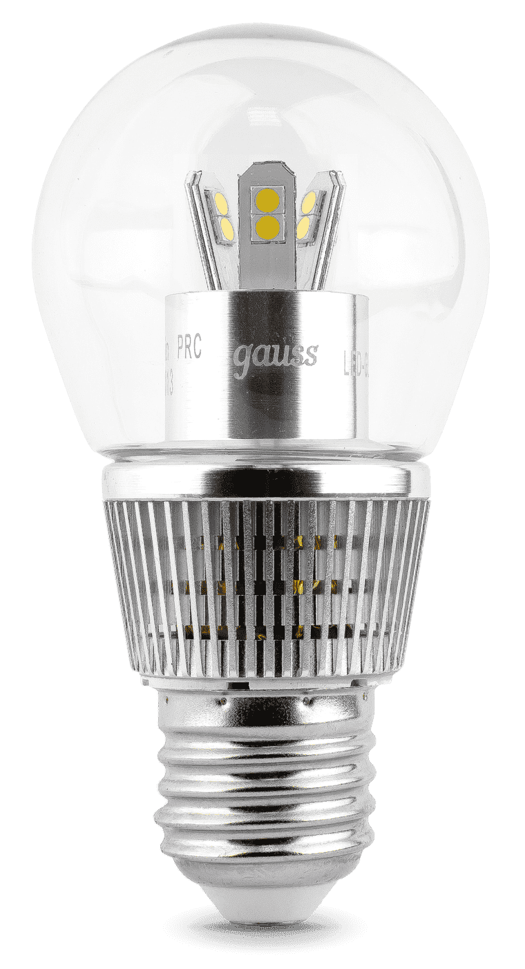 Gauss LED Globe-dim Crystal Clear 7W E27 2700K диммируемая арт. HA105202107-D