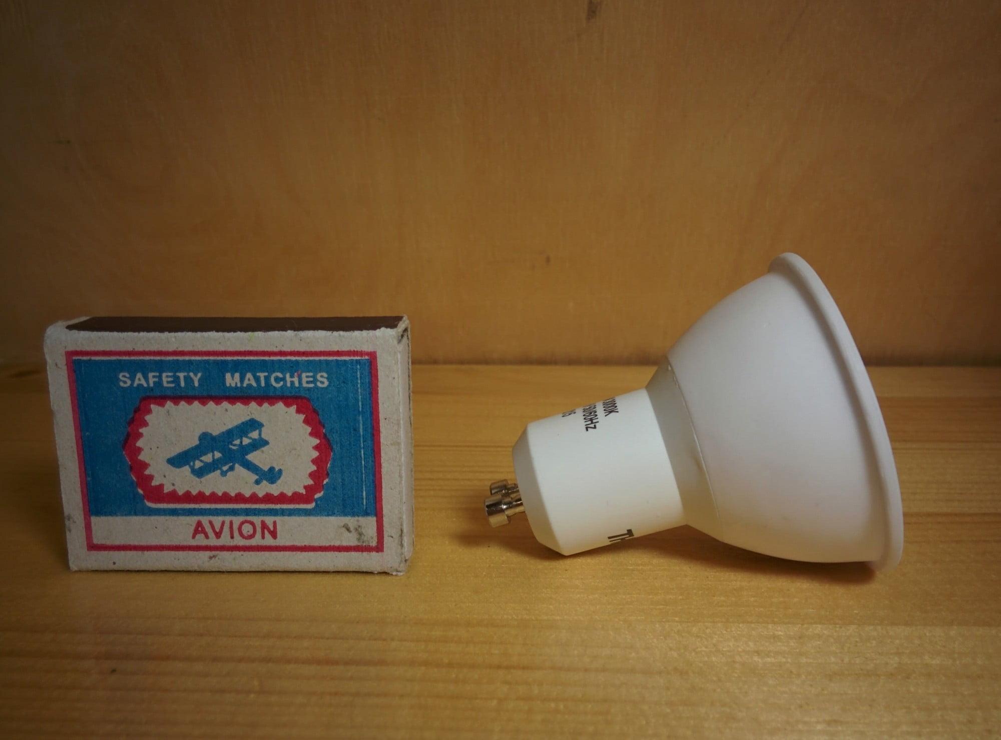 TM-MR16W-6W-GU10 лампа