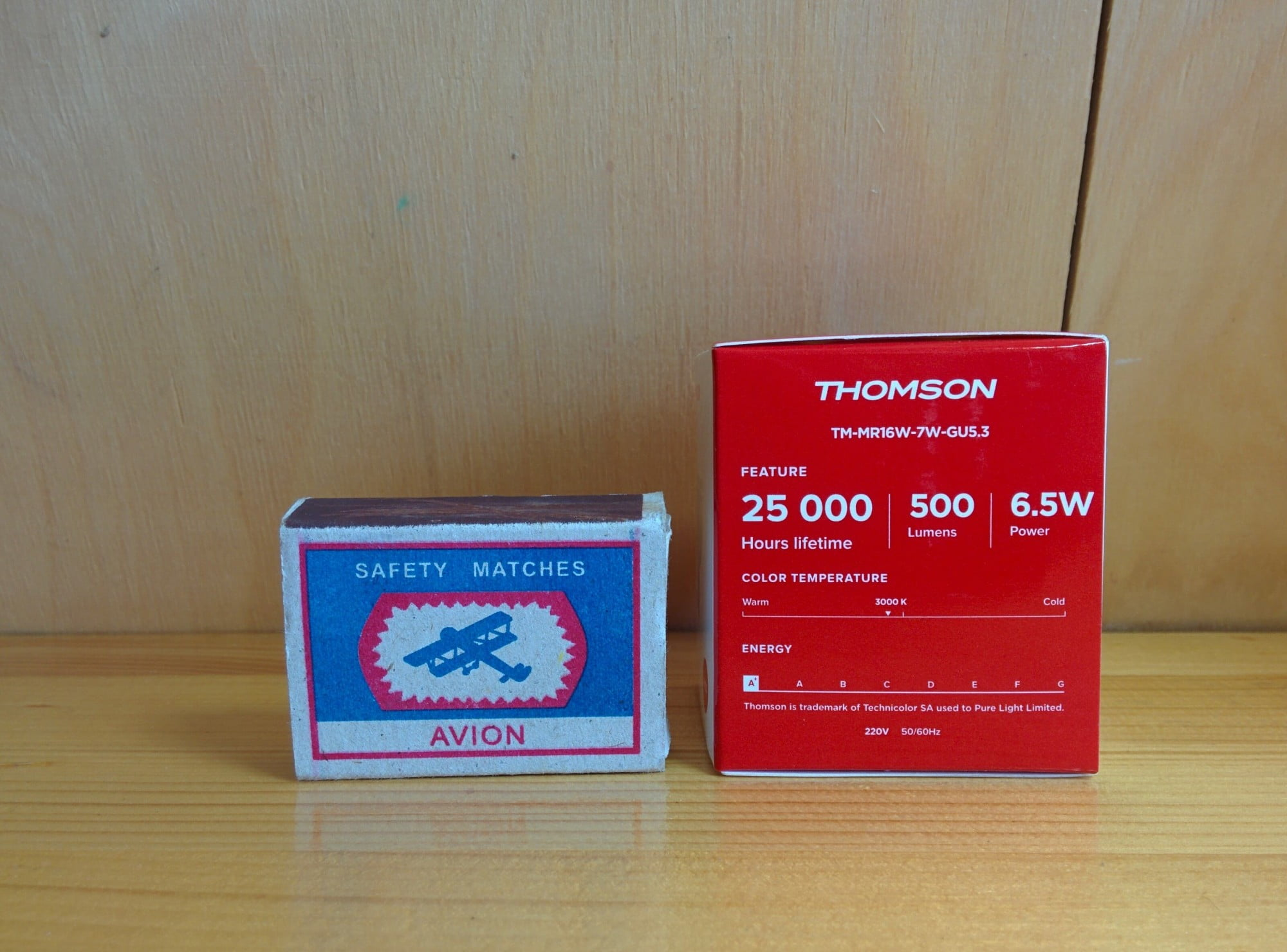 Thomson TM-MR16W-7W-GU5.3 характеристики