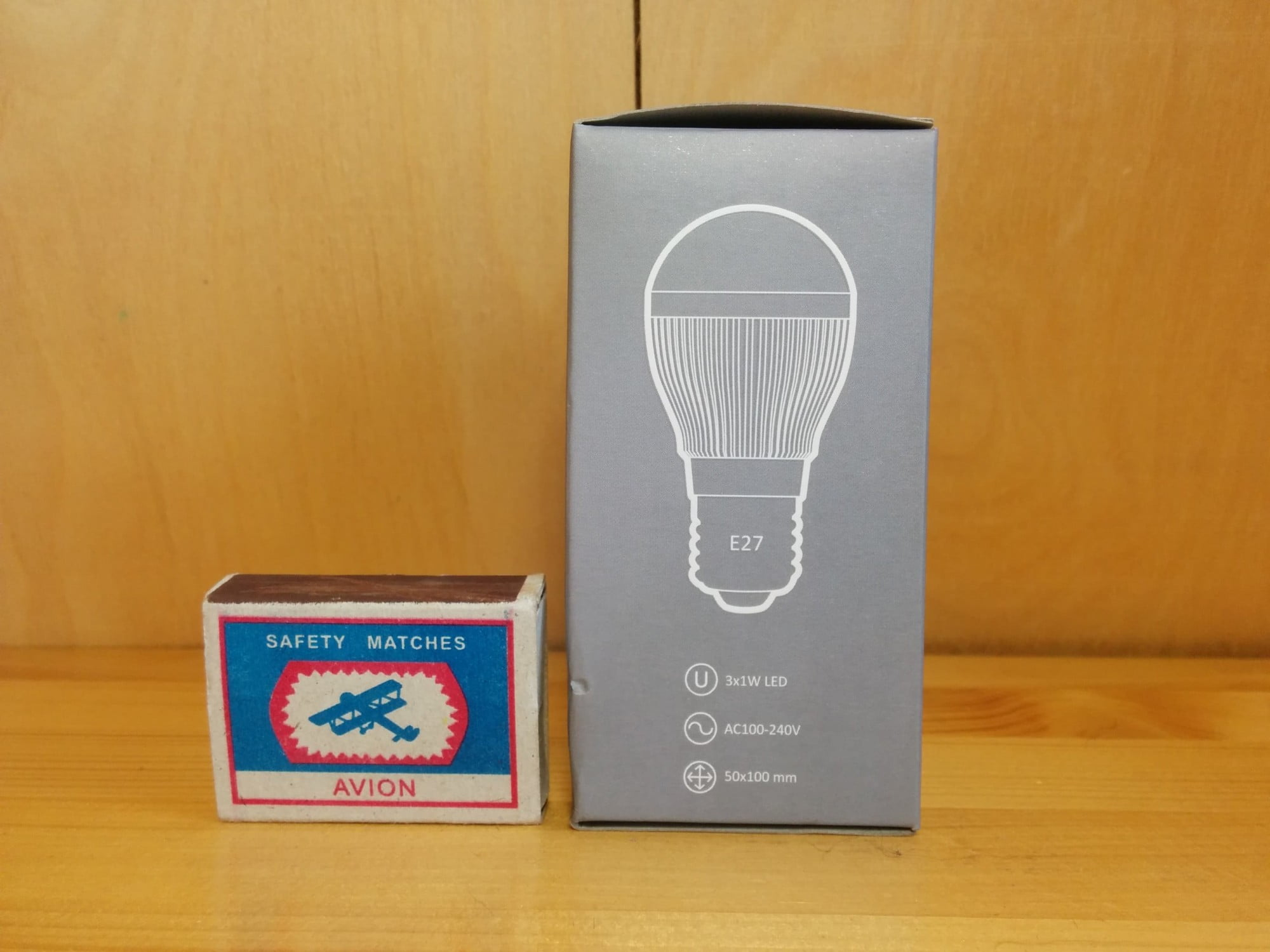 Gauss LED Globe 3x1W 4100K упаковка