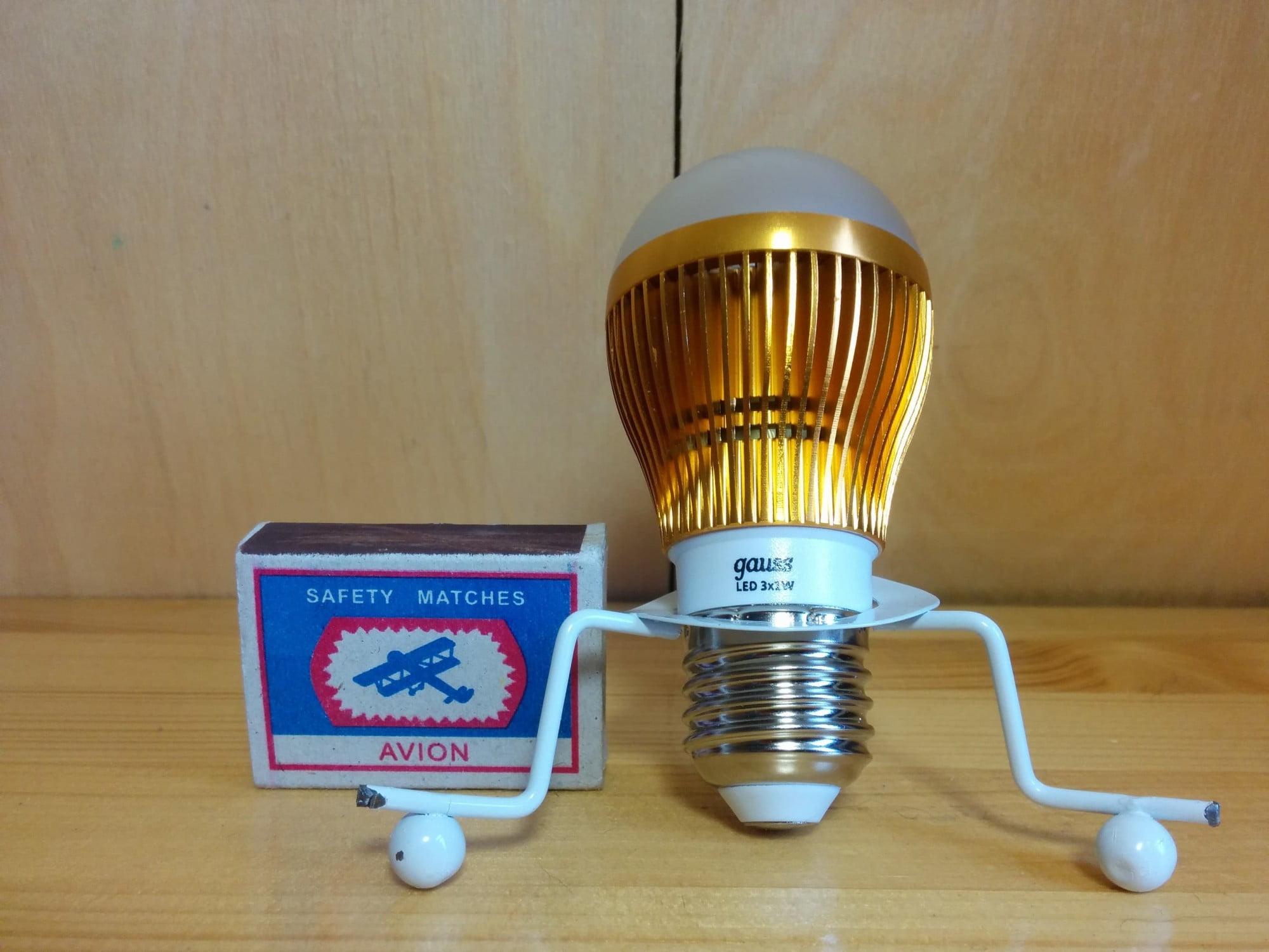 Gauss LED Globe 3x1W 4100K лампа