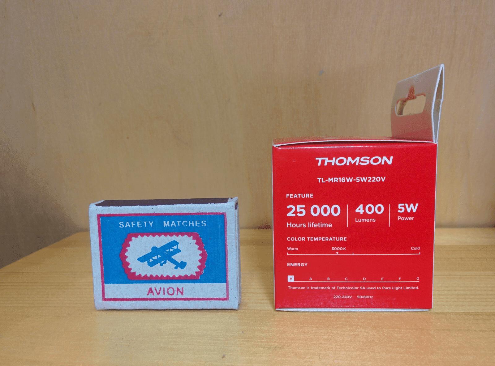 Thomson TL-MR16W-5W220V характеристики