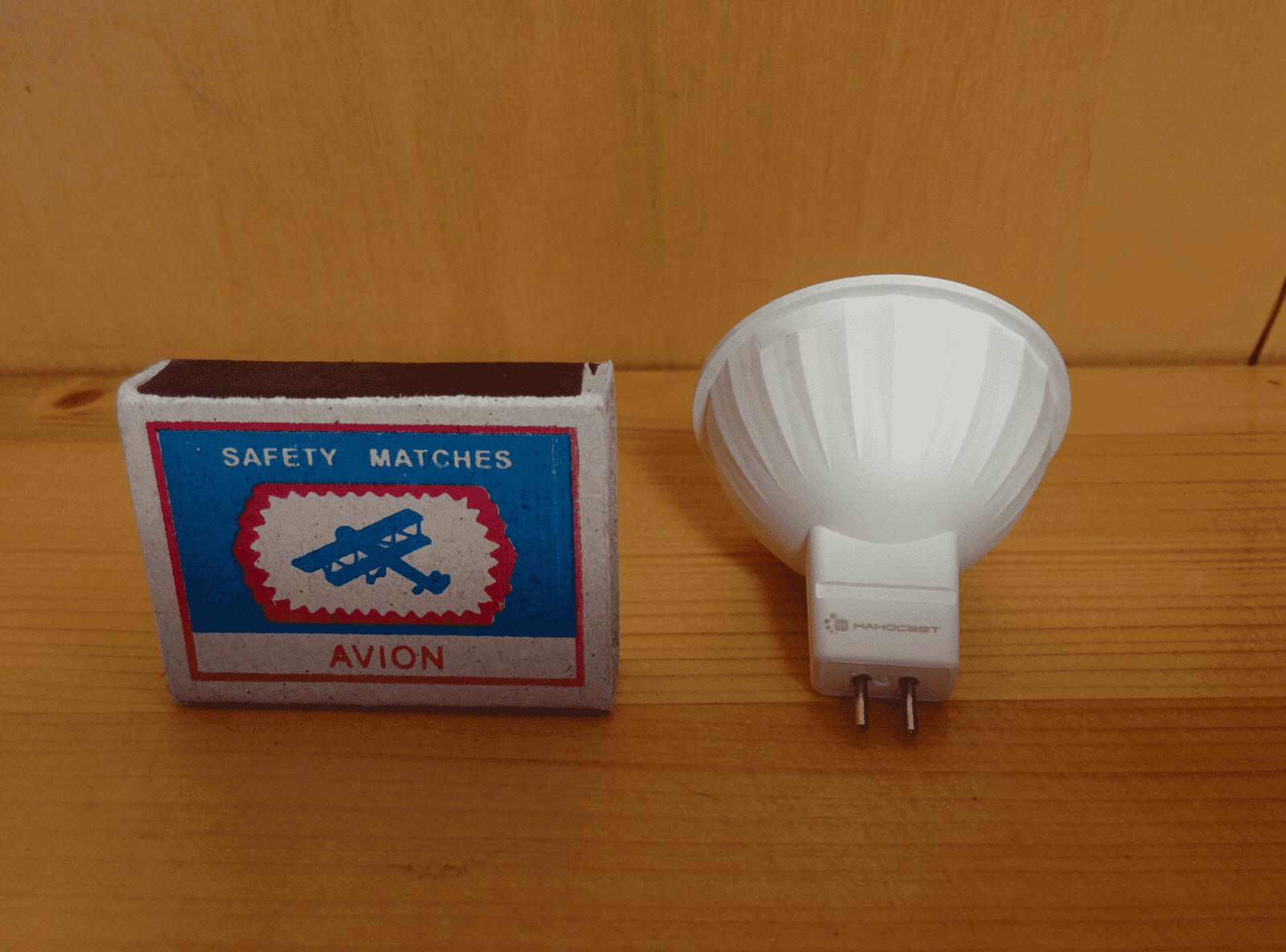 НАНОСВЕТ LE-4MR16A-GU5.3-827 лампа