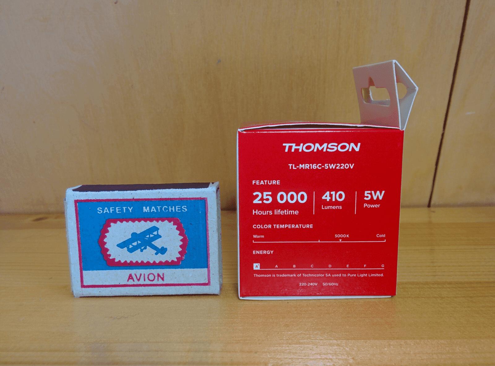 Thomson TL-MR16C-5W220V характеристики