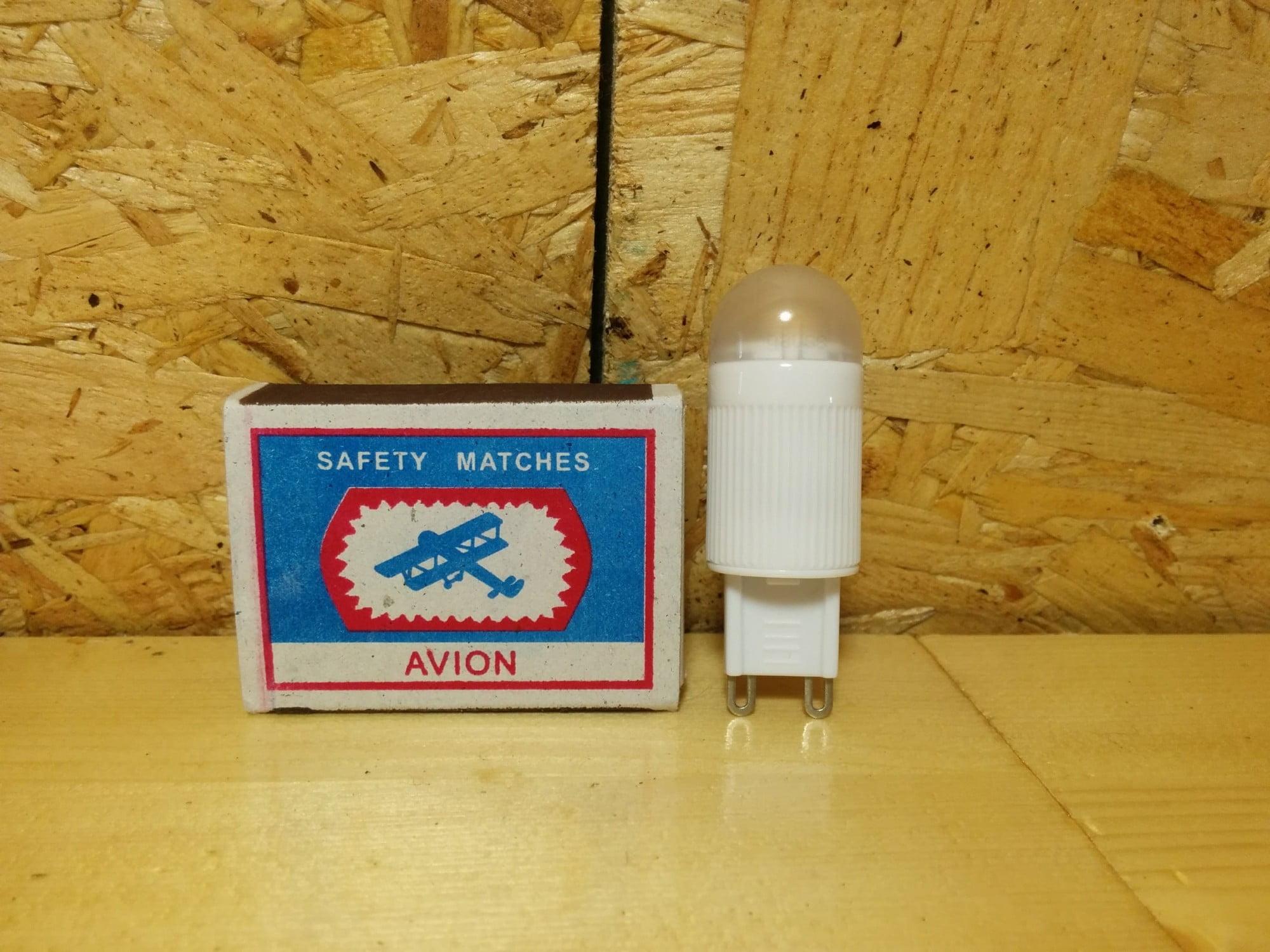 Gauss LED G9 2.5W 230V 4100K лампа