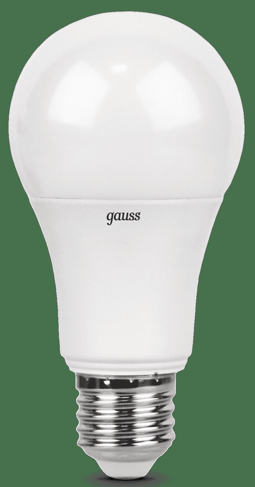 Gauss LED A60 10W E27 4100K арт. LD102502210