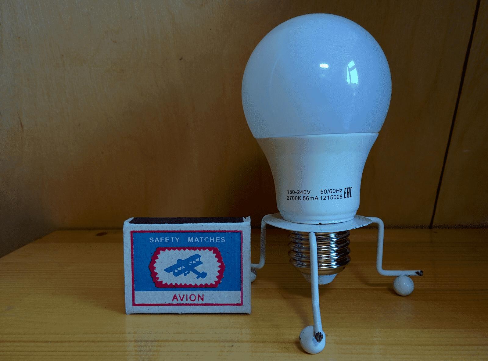 Gauss LED Elementary A60 E27 6W 2700K арт. 23216 Лампа