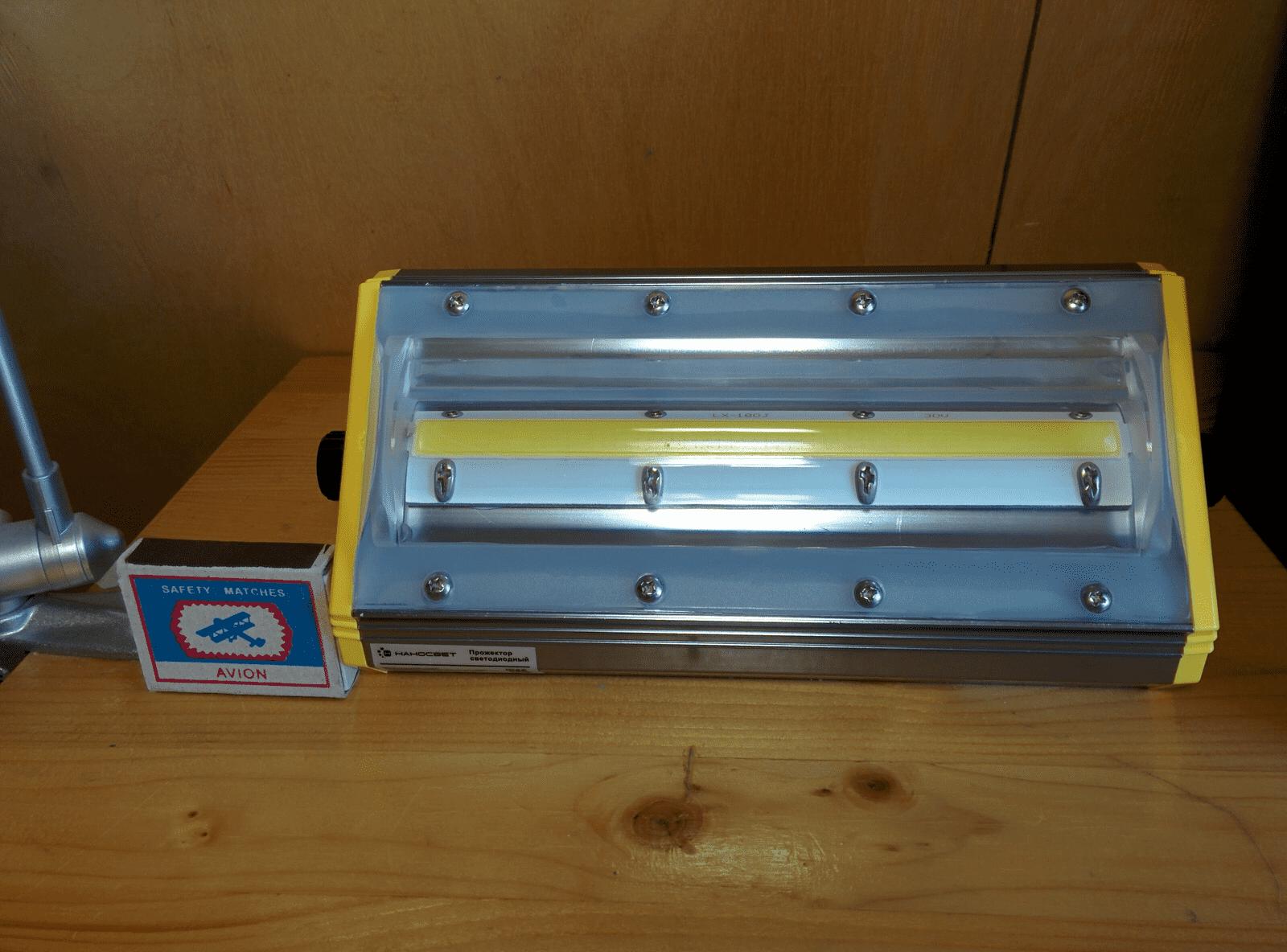 Прожектор светодиодный НАНОСВЕТ L402 NFL-COB-60W/120D/750 арт. L402 Прожектор