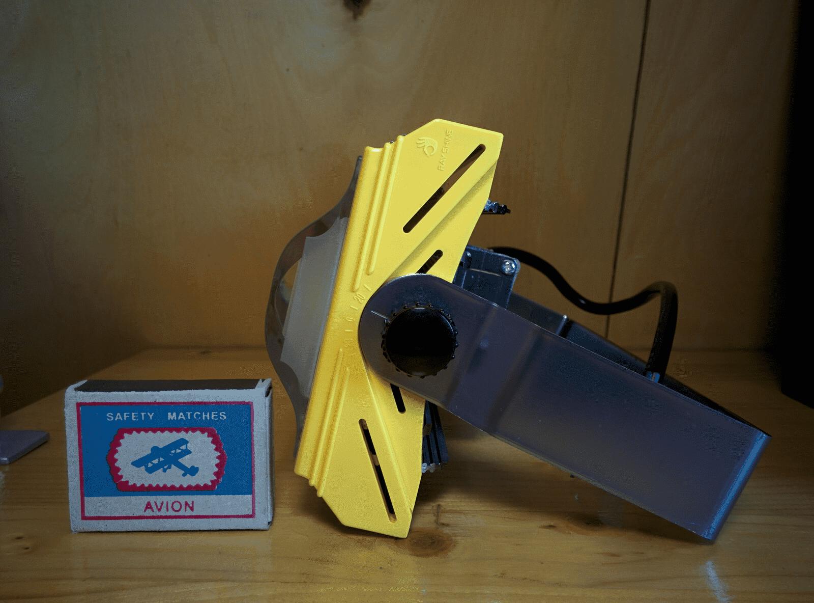 Прожектор светодиодный НАНОСВЕТ L402 NFL-COB-60W/120D/750 арт. L402 Прожектор вид с бока