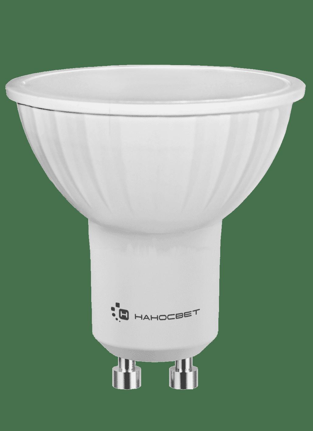Светодиодная лампа НАНОСВЕТ LE-MR16A-6/GU10/840 арт. L109