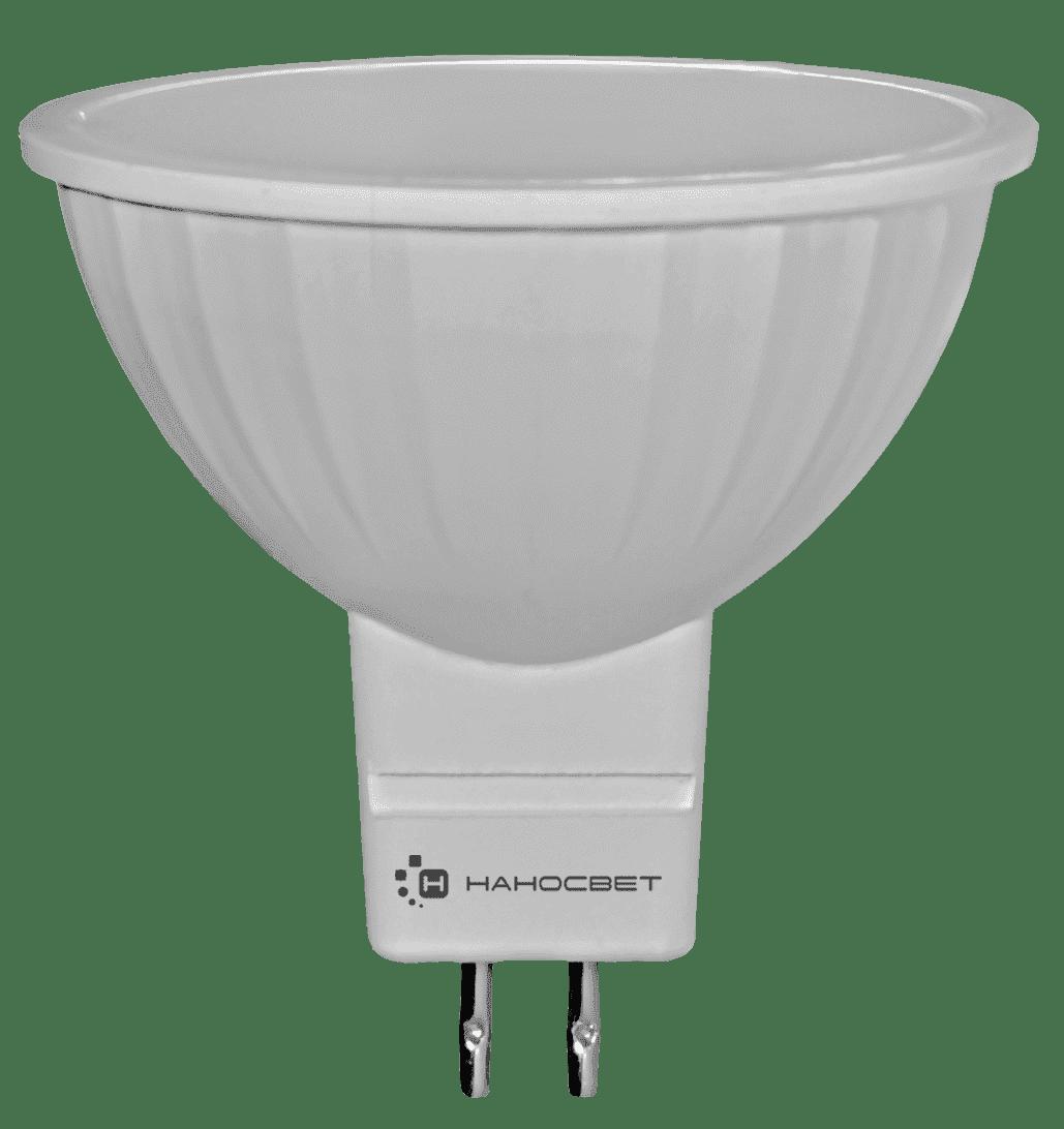 Светодиодная лампа НАНОСВЕТ LE-MR16A-6/GU5.3/840/12V арт. L111