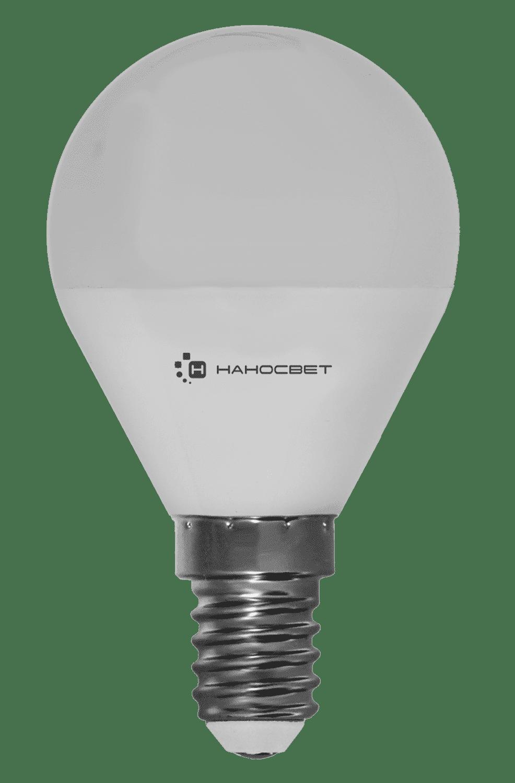 Светодиодная лампа НАНОСВЕТ LE-P45-6.5/E14/827 арт. L128
