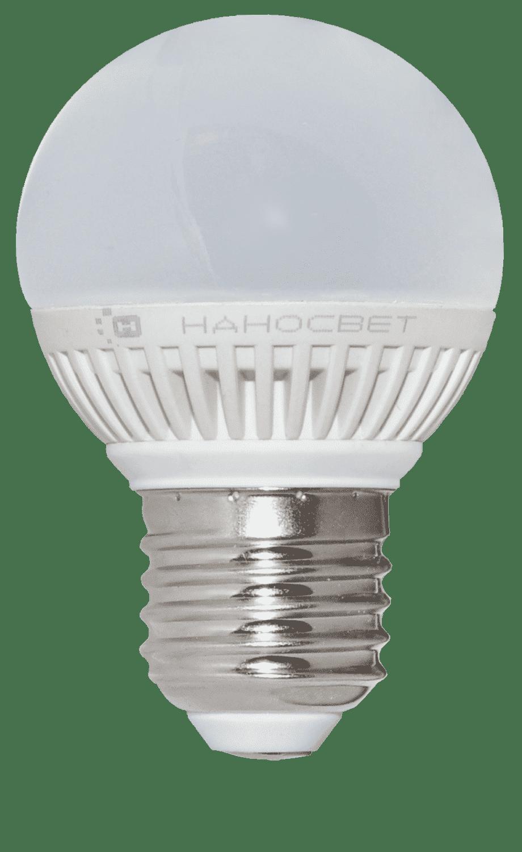 Светодиодная лампа НАНОСВЕТ LC-G-5/E27/840 арт. L138