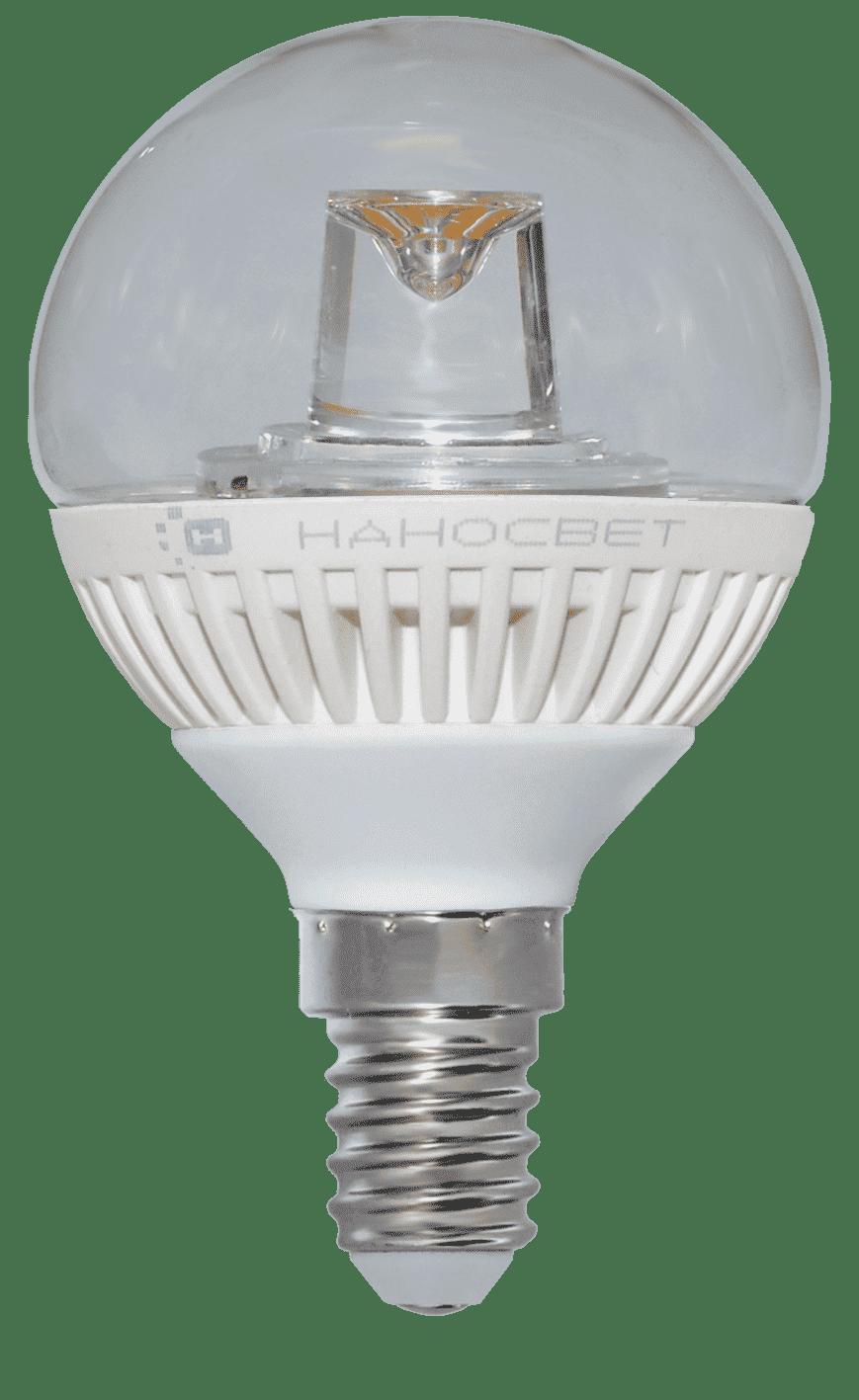 Светодиодная лампа НАНОСВЕТ LC-GCL-5/E14/840 арт. L153