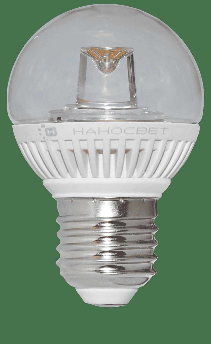 Светодиодная лампа НАНОСВЕТ LC-GCL-5/E27/840 арт. L154
