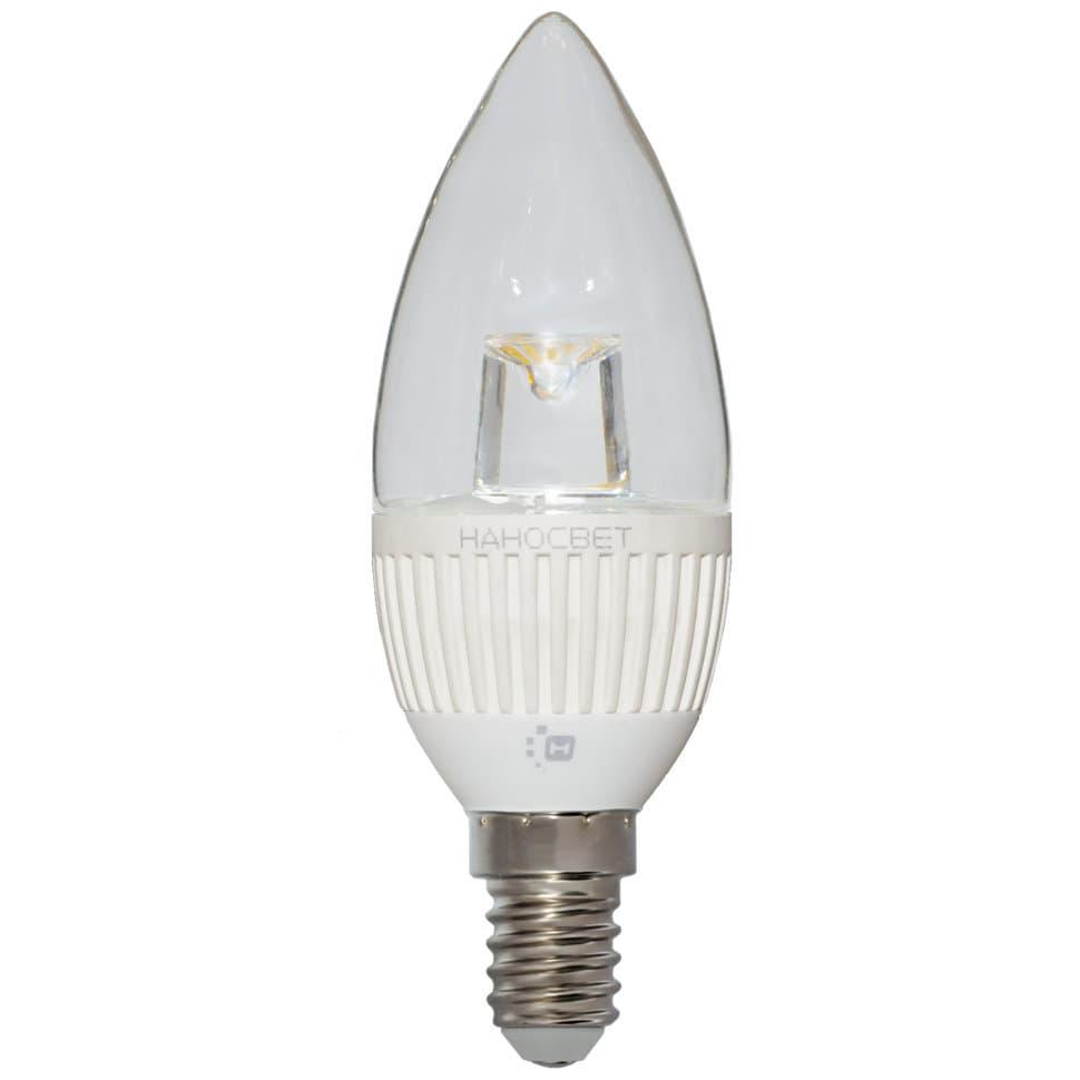 Светодиодная лампа НАНОСВЕТ LC-CDCL-5/E14/840 арт. L155