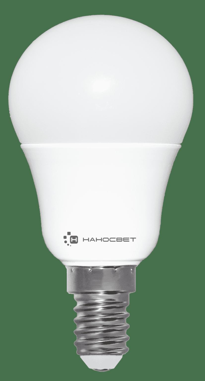 Светодиодная лампа НАНОСВЕТ LC-P45-7.5/E14/840 арт. L205