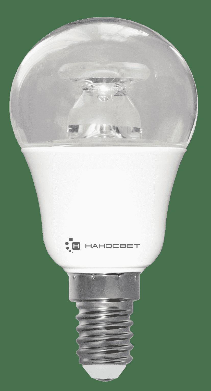 Светодиодная лампа НАНОСВЕТ LC-P45CL-7.5/E14/827 арт. L208