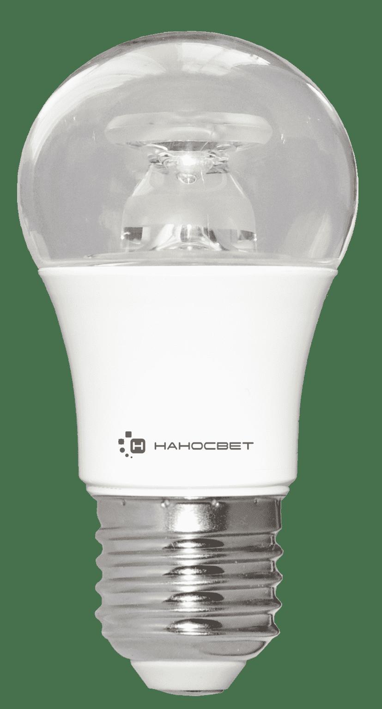 Светодиодная лампа НАНОСВЕТ LC-P45CL-7.5/E27/840 арт. L211