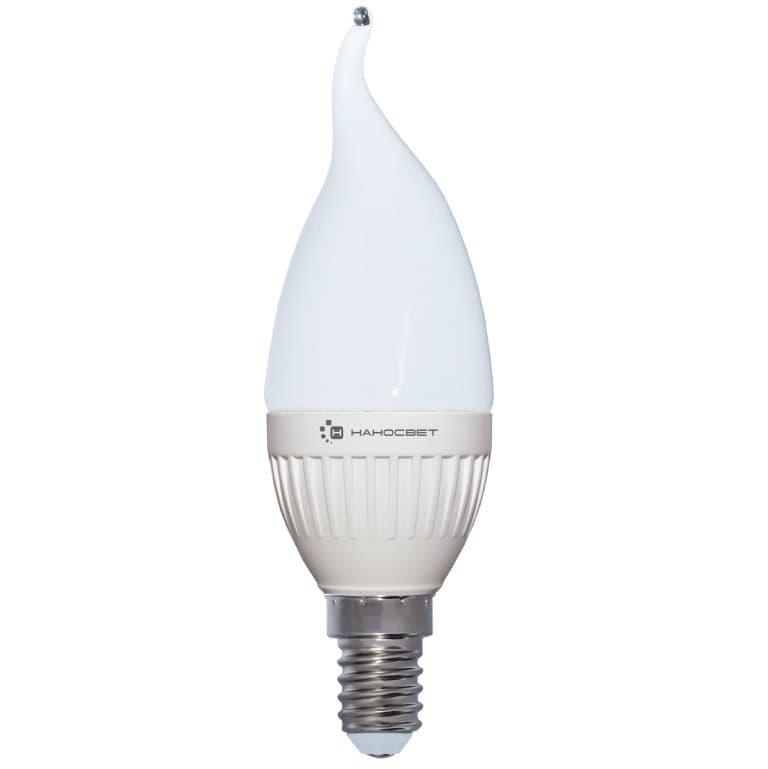 Светодиодная лампа НАНОСВЕТ LC-CDT-6.5/E14/840 арт. L217