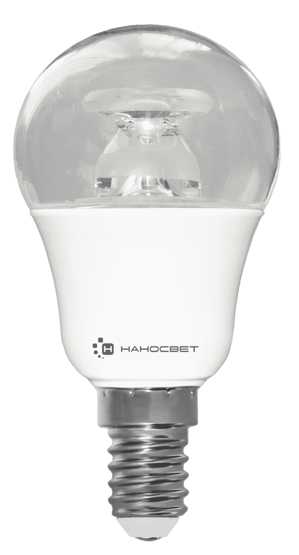Светодиодная лампа НАНОСВЕТ LC-P45CL-D-7.5/E14/827 арт. L236