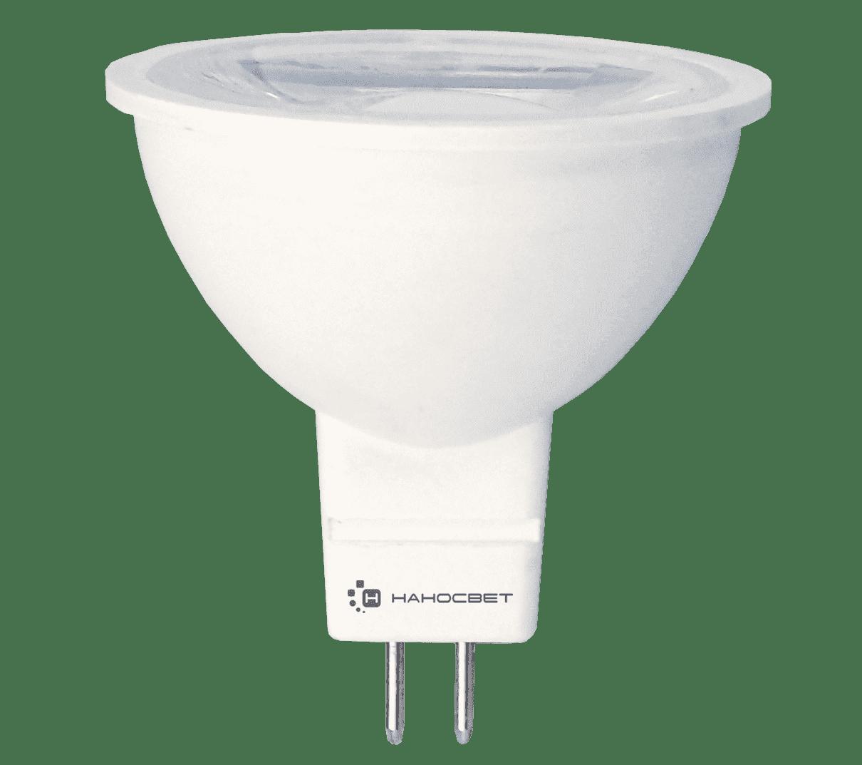Светодиодная лампа НАНОСВЕТ LH-MR16-8.5/GU5.3/840 арт. L281