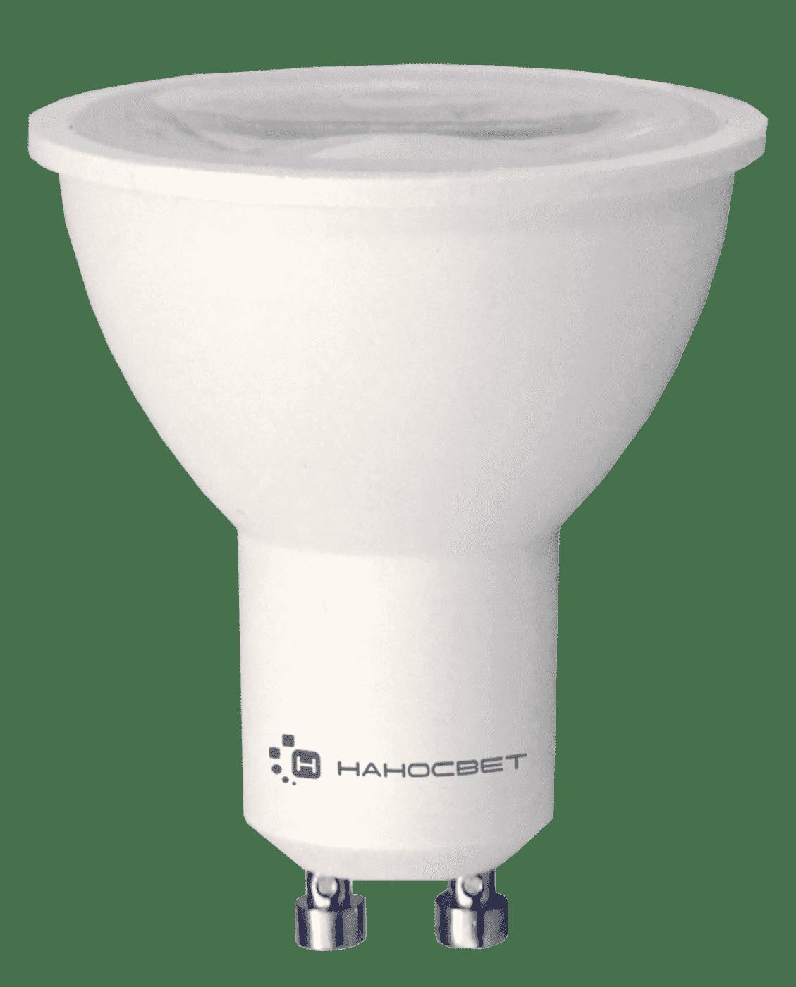Светодиодная лампа НАНОСВЕТ LH-MR16-8.5/GU10/827 арт. L282