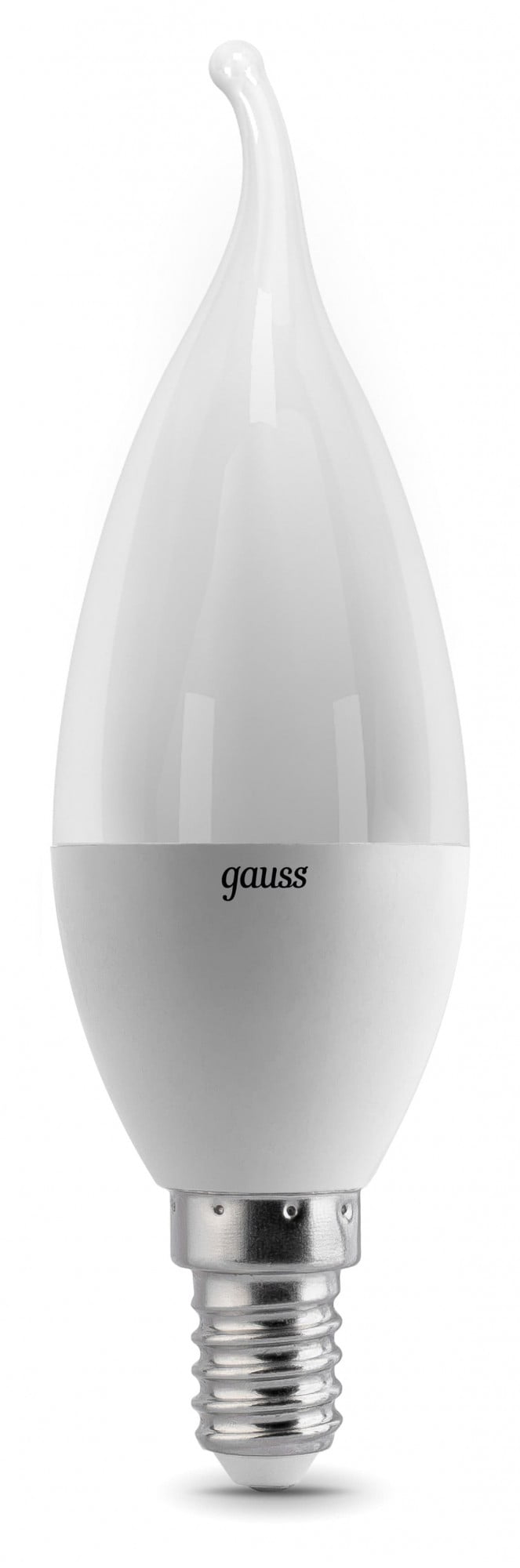 Gauss LED Elementary Candle Tailed 6W E14 4100K 1/10/50 арт. LD34126