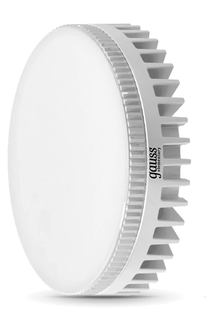 Светодиодная лампа Gauss LED Elementary GX53 6W 2700K 1/10/50 арт. LD83816