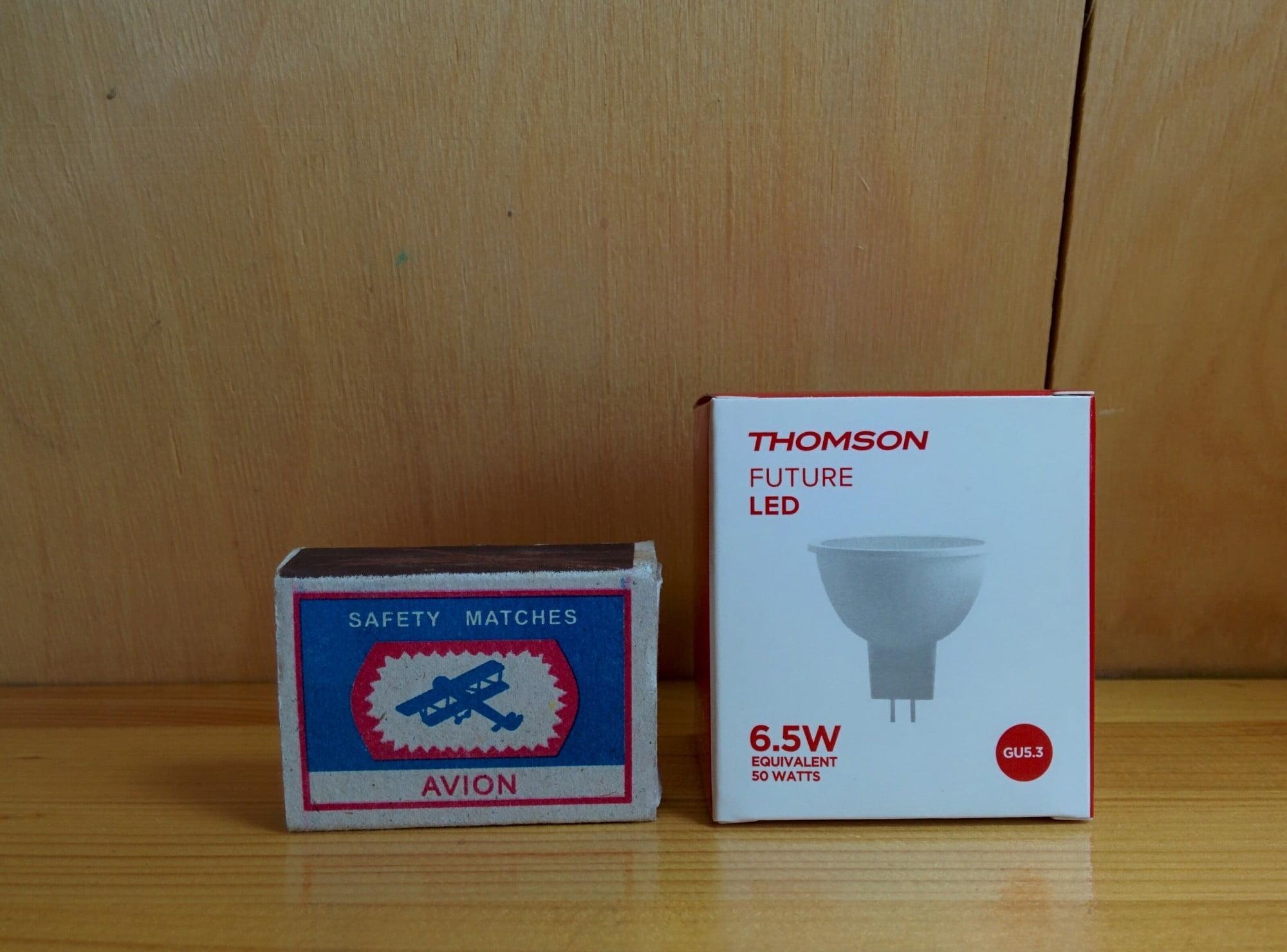 Thomson TM-MR16W-7W-GU5.3 упаковка