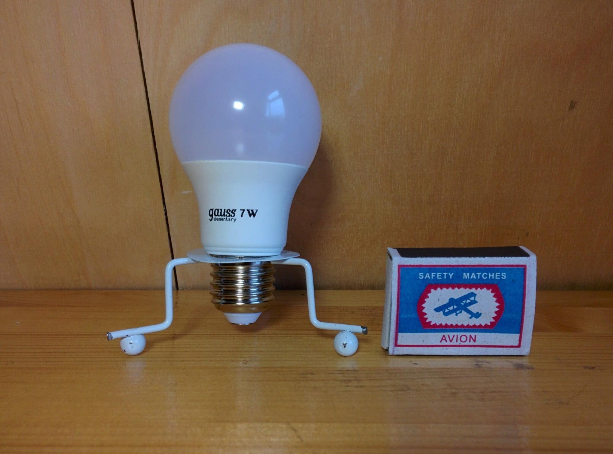 Gauss LED A60 7W E27 4100K лампа