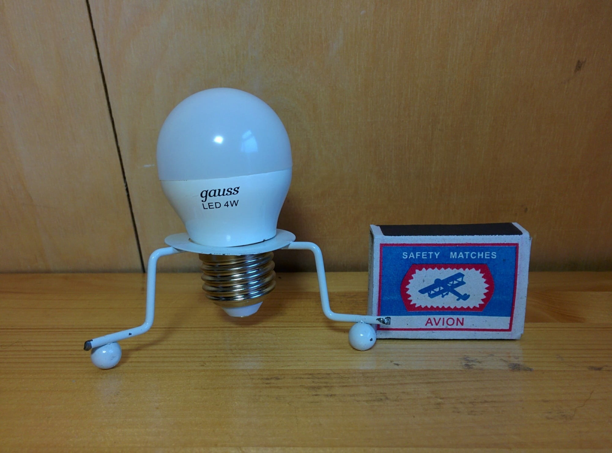Gauss LED Globe 4W E27 4100K лампа