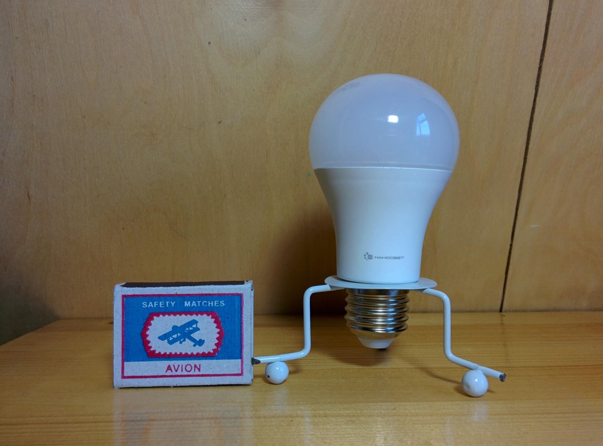 Светодиодная лампа НАНОСВЕТ LC-GLS-15/E27/827 арт. L196