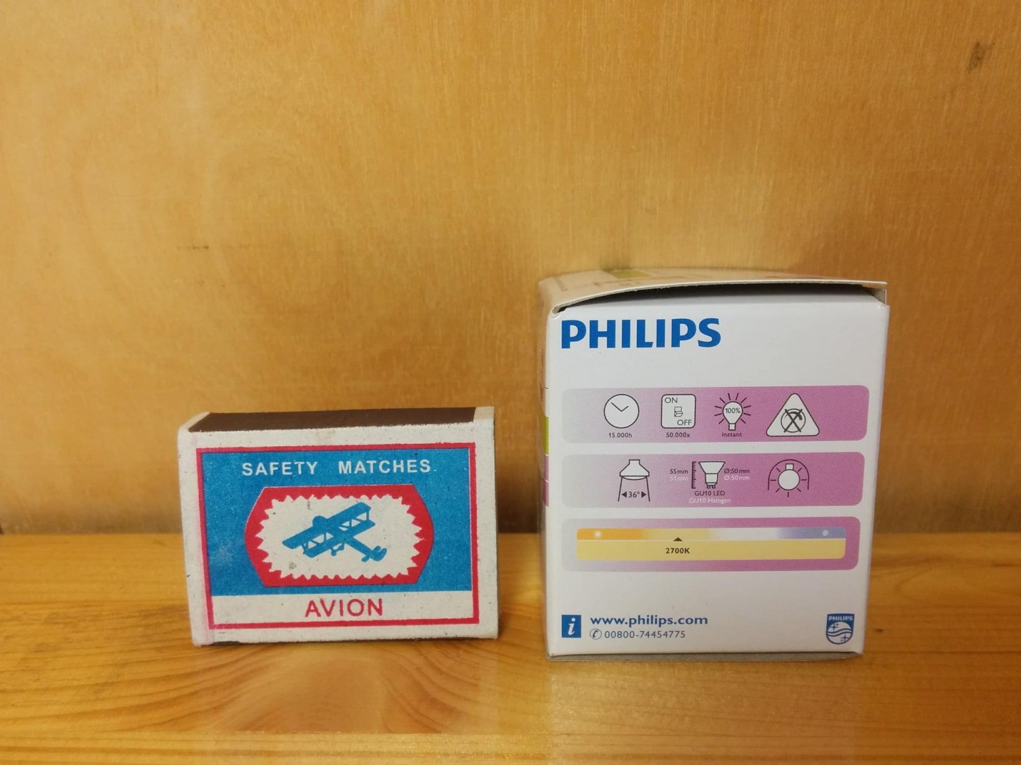 Philips CorePro LEDspotMV 4.5-50W GU10 827 36D характеристики