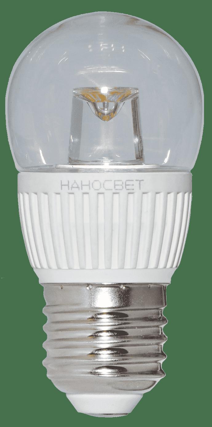 Светодиодная лампа НАНОСВЕТ LC-P45CL-5/E27/827 арт. L143