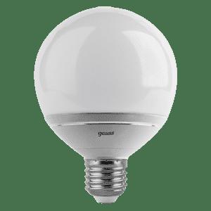 Gauss LED G95-dim 14W E27 4100K диммируемая 1/10/40 арт. EB136102214-D Лампа