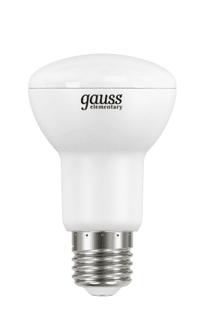 Gauss LED Elementary Reflector R63 7.5W E27 2700K арт. LD63218 Лампа